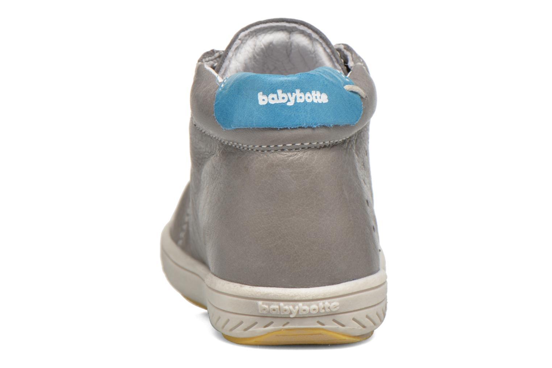 Bottines et boots Babybotte Ankara Gris vue droite