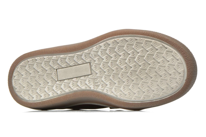 Chaussures à scratch Babybotte Kadreur Marron vue haut