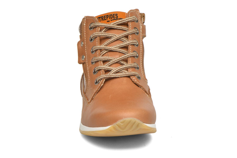 Bottines et boots Babybotte Kap Marron vue portées chaussures