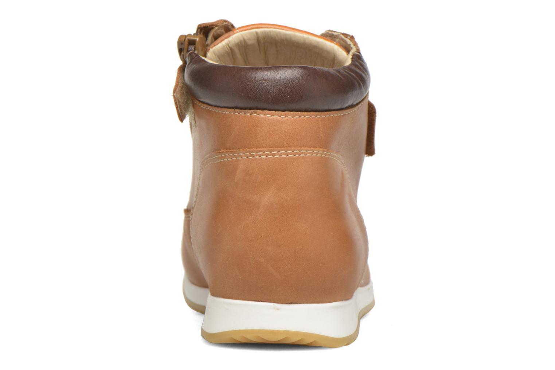 Bottines et boots Babybotte Kap Marron vue droite