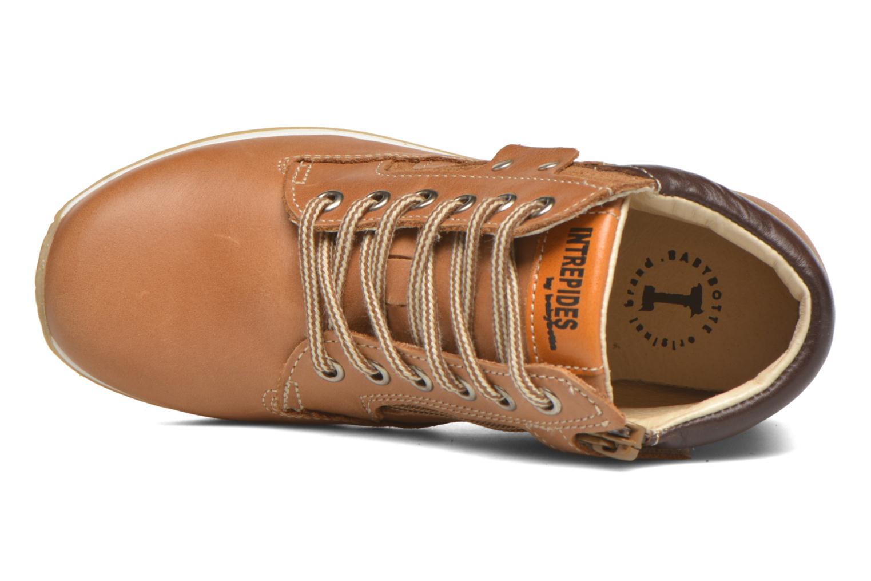 Bottines et boots Babybotte Kap Marron vue gauche