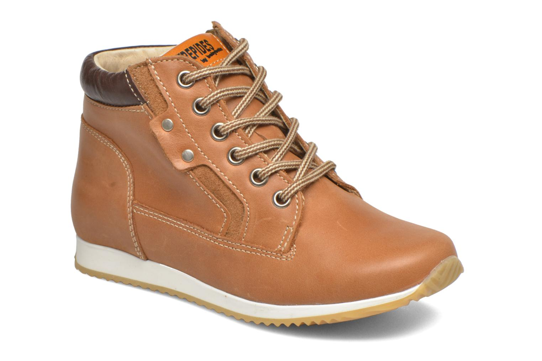 Bottines et boots Babybotte Kap Marron vue détail/paire