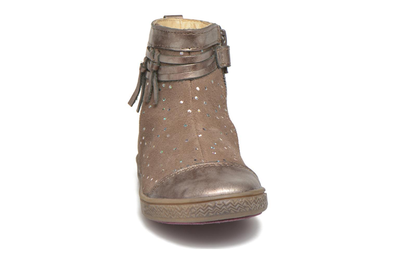 Stiefeletten & Boots Babybotte Ambalaba beige schuhe getragen