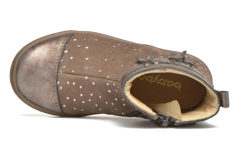 Stiefeletten & Boots Babybotte Ambalaba beige ansicht von links