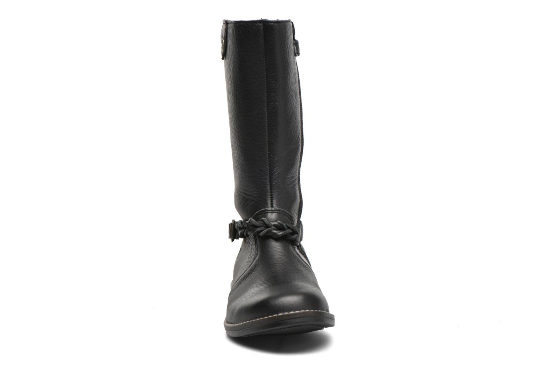 Stiefel Babybotte Kamichi schwarz schuhe getragen