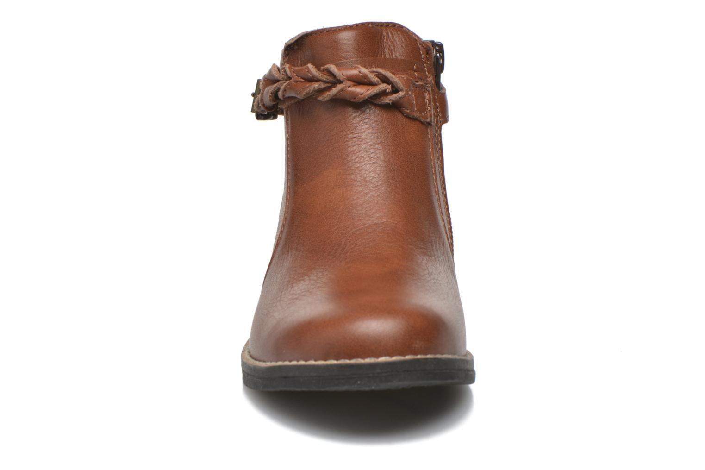 Bottines et boots Babybotte Kalila Marron vue portées chaussures