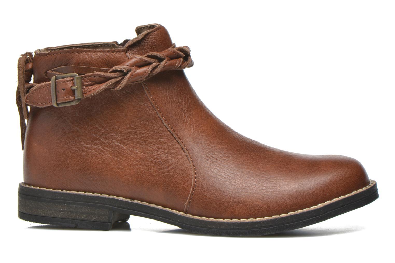 Bottines et boots Babybotte Kalila Marron vue derrière