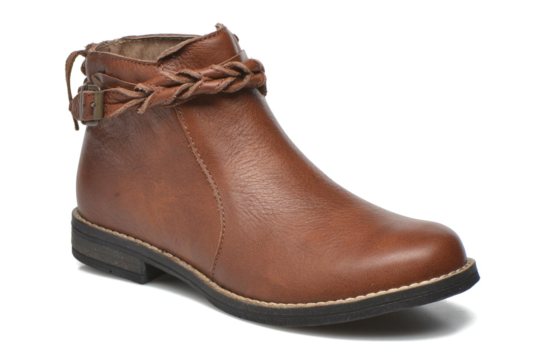 Bottines et boots Babybotte Kalila Marron vue détail/paire