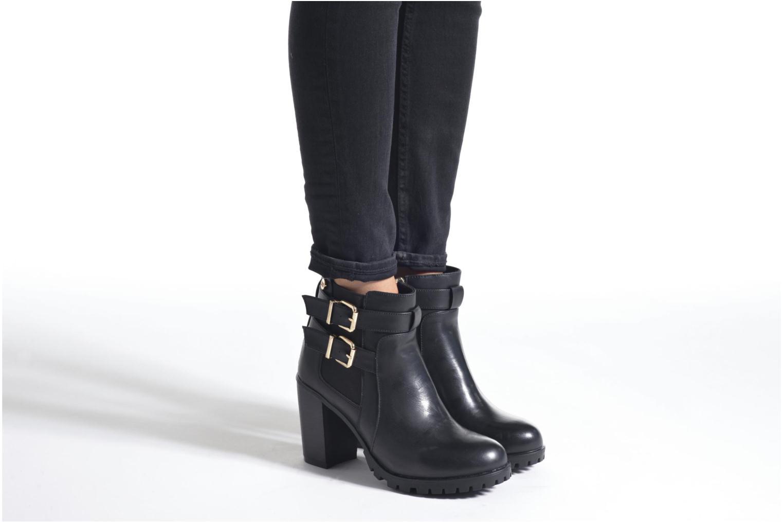 Stiefeletten & Boots Xti Lizy-28582 schwarz ansicht von unten / tasche getragen