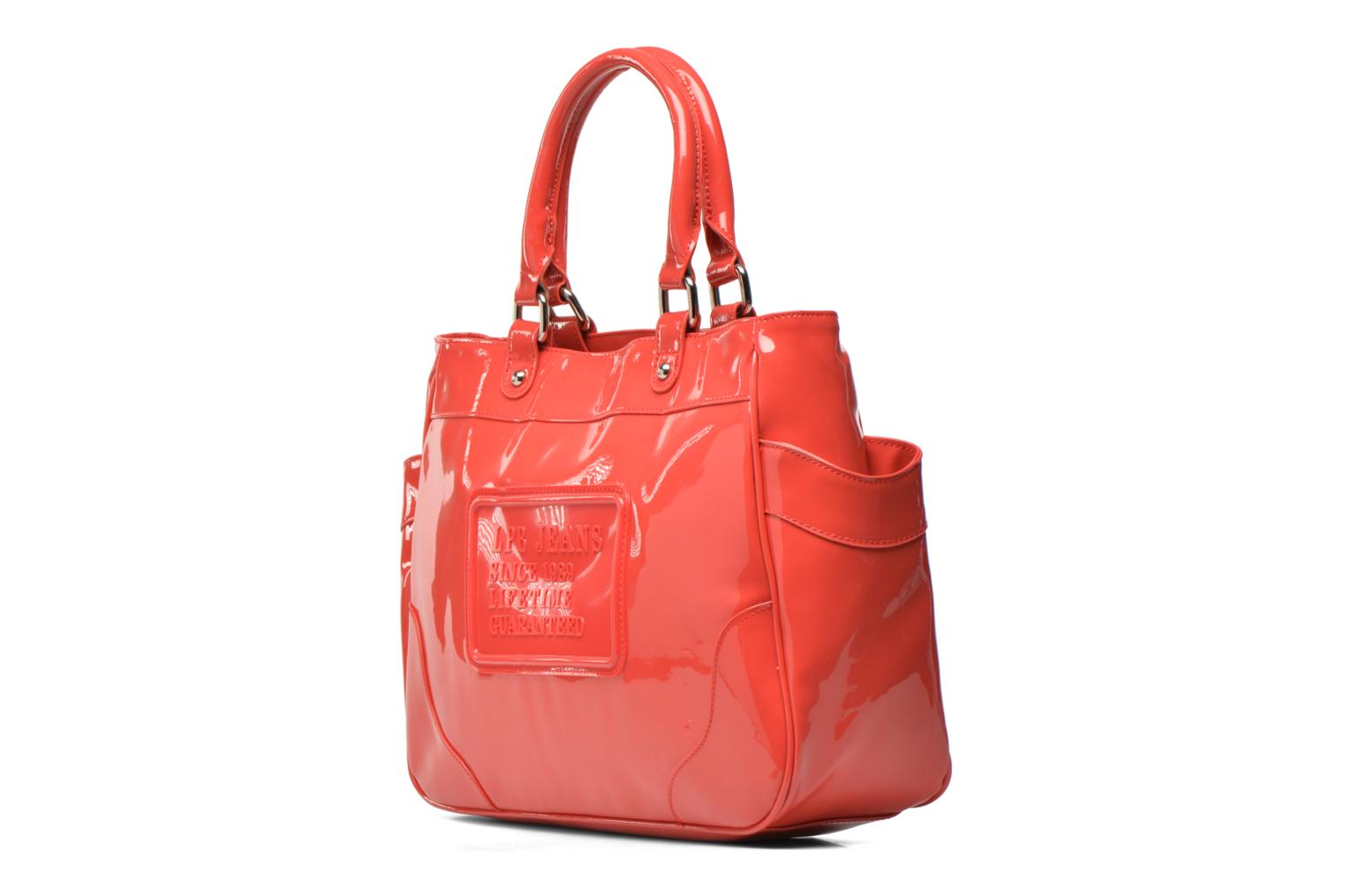 Handbags Les P'tites Bombes Sac Vernis Red model view