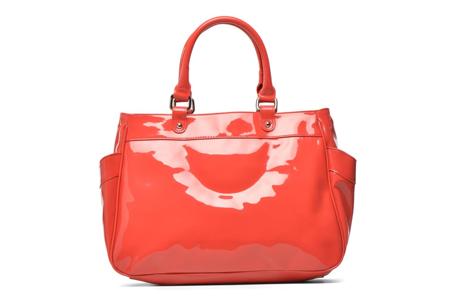 Handbags Les P'tites Bombes Sac Vernis Red front view