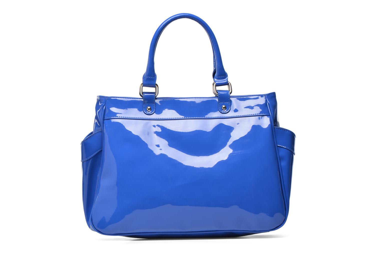 Handbags Les P'tites Bombes Sac Vernis Blue front view