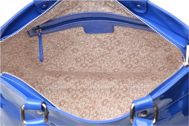 Handbags Les P'tites Bombes Sac Vernis Blue back view