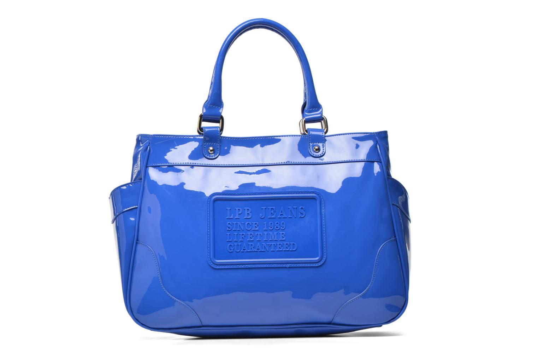 Handbags Les P'tites Bombes Sac Vernis Blue detailed view/ Pair view