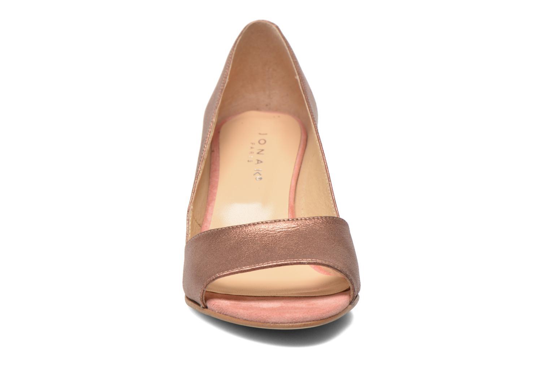 Escarpins Jonak Dorta Rose vue portées chaussures