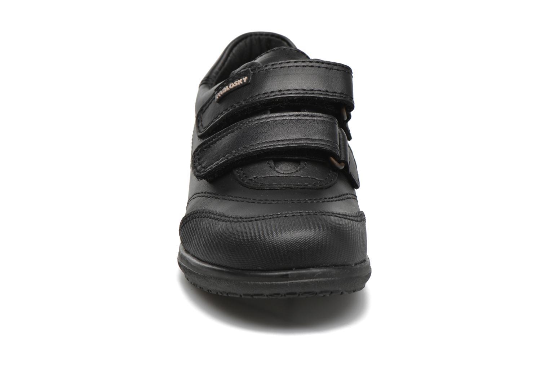 Chaussures à scratch Pablosky Beny Noir vue portées chaussures