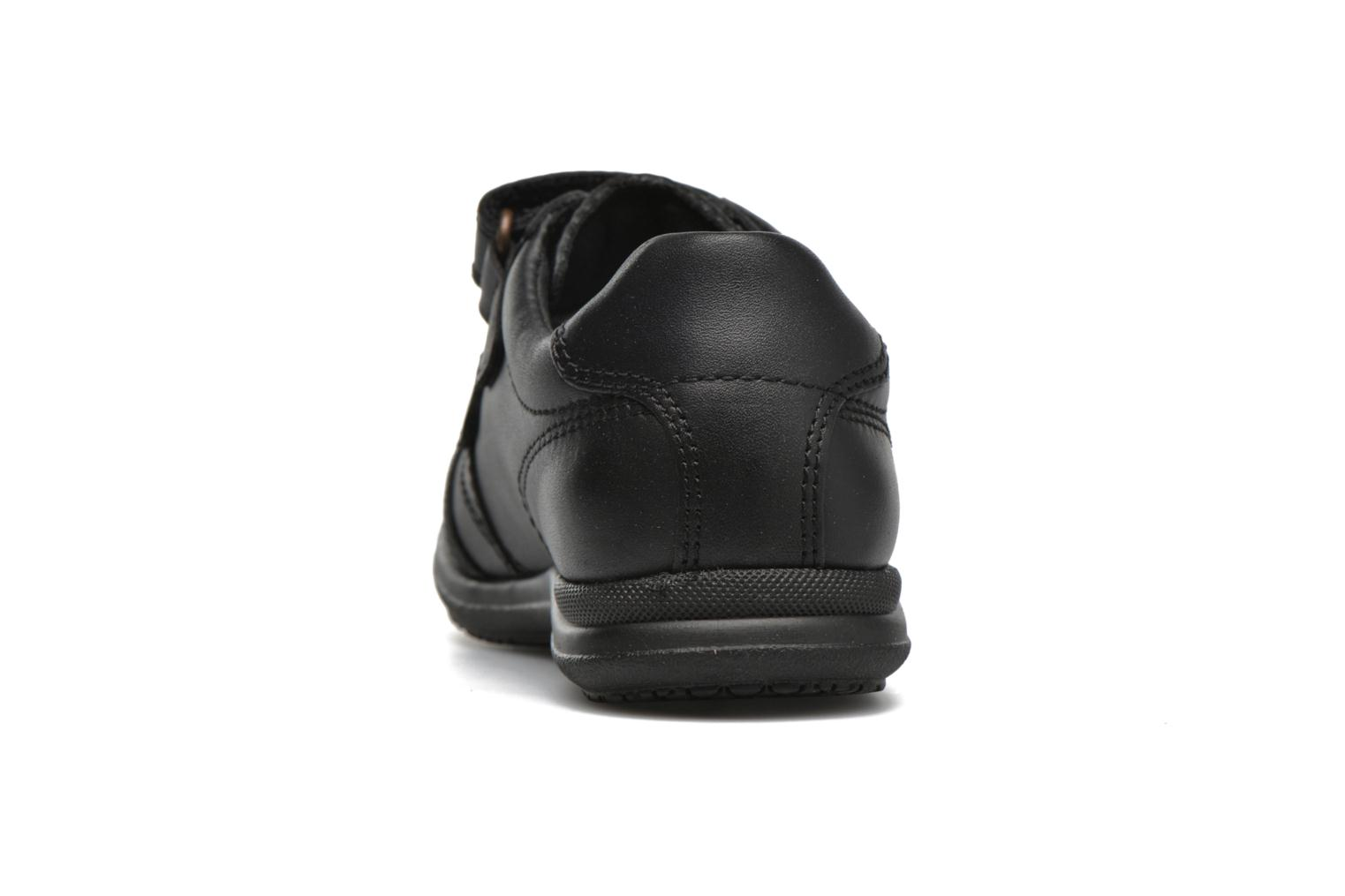 Velcro shoes Pablosky Beny Black view from the right