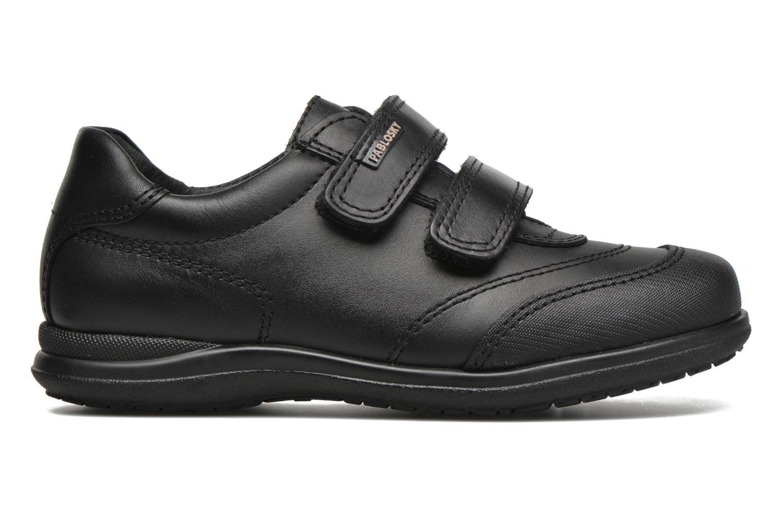 Chaussures à scratch Pablosky Beny Noir vue derrière