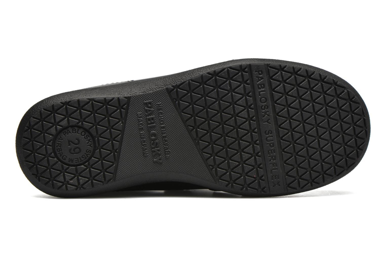 Chaussures à scratch Pablosky Beny Noir vue haut