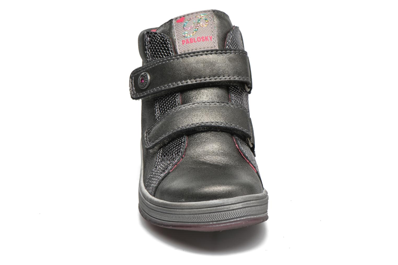 Baskets Pablosky Estefania Gris vue portées chaussures