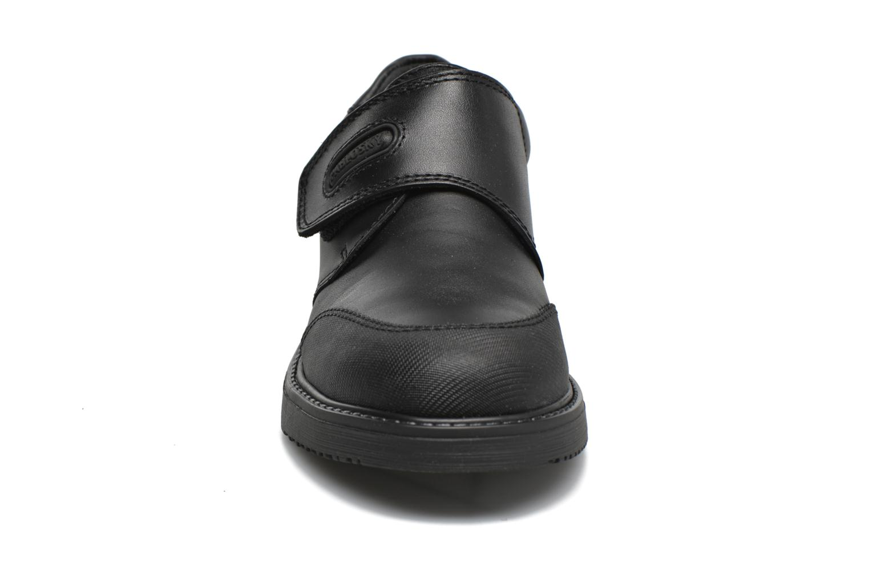 Chaussures à scratch Pablosky Hugo Noir vue portées chaussures