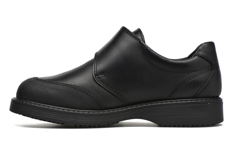 Chaussures à scratch Pablosky Hugo Noir vue face