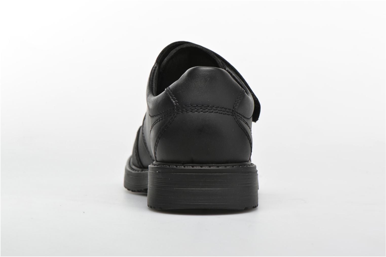 Chaussures à scratch Pablosky Hugo Noir vue droite