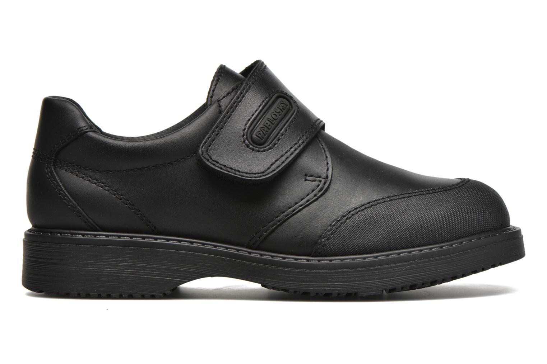 Chaussures à scratch Pablosky Hugo Noir vue derrière