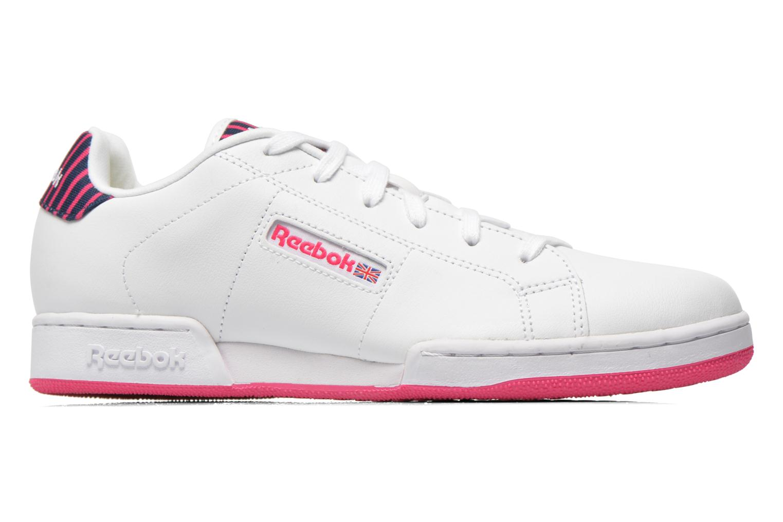 Sneaker Reebok Npc Ii Stripe weiß ansicht von hinten