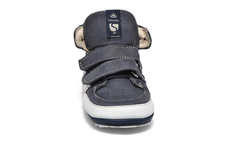 Sko med velcro Shoesme Simon Blå se skoene på