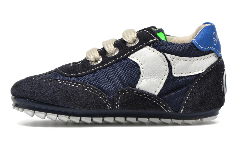 Sneaker Shoesme Sam blau ansicht von vorne