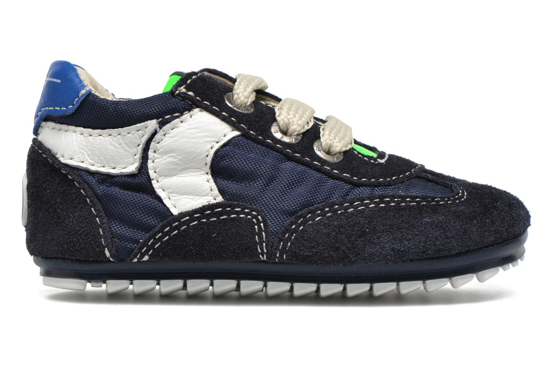 Sneakers Shoesme Sam Azzurro immagine posteriore