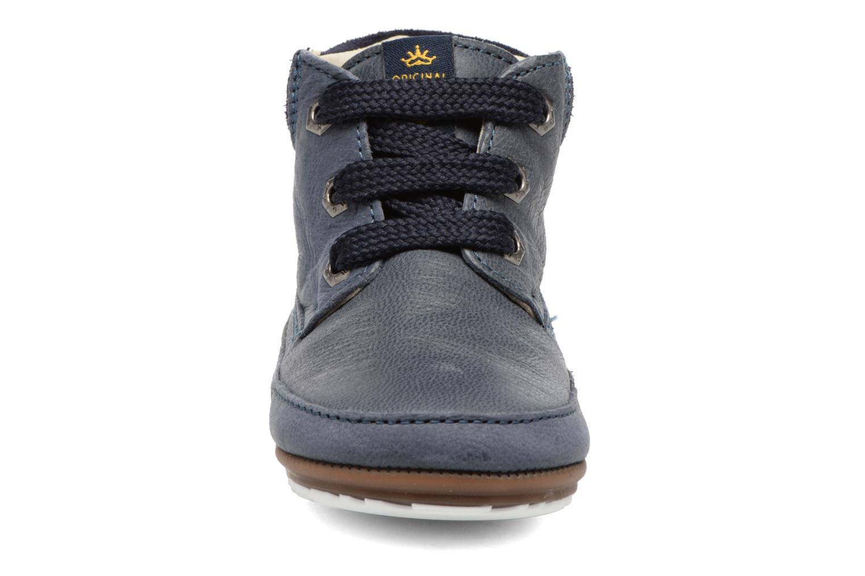 Chaussures à lacets Shoesme Stef Bleu vue portées chaussures