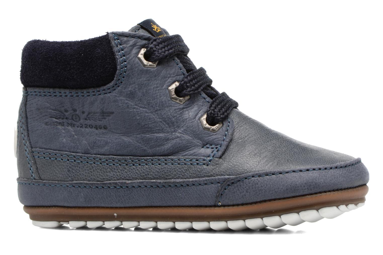 Chaussures à lacets Shoesme Stef Bleu vue derrière