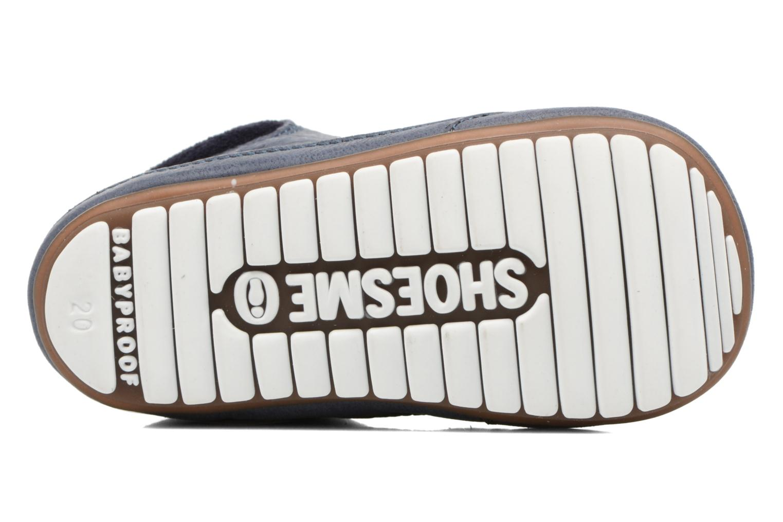 Chaussures à lacets Shoesme Stef Bleu vue haut