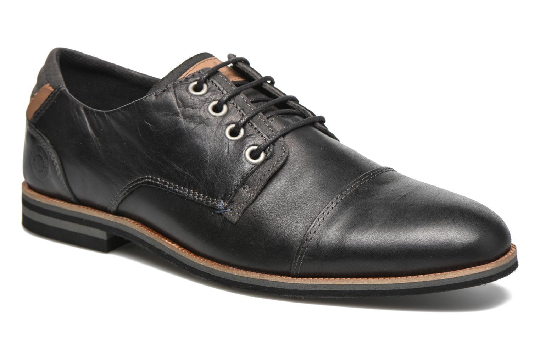 Chaussures à lacets Bullboxer Spiro Noir vue détail/paire