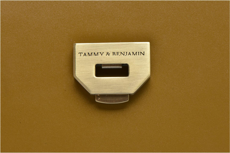 Sacs à main Tammy & Benjamin IRIS Vert vue gauche