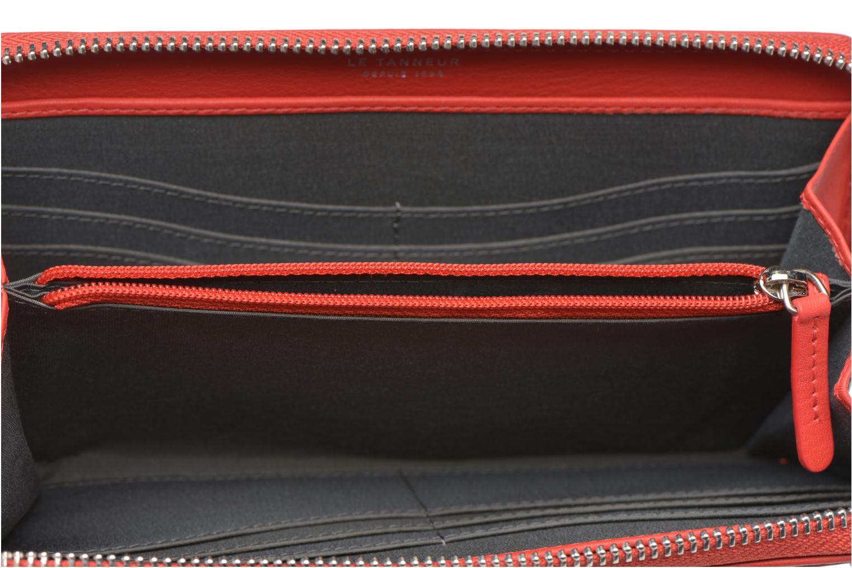 Portemonnaies & Clutches Le Tanneur VALENTINE Porte-monnaie long zippé rot ansicht von hinten
