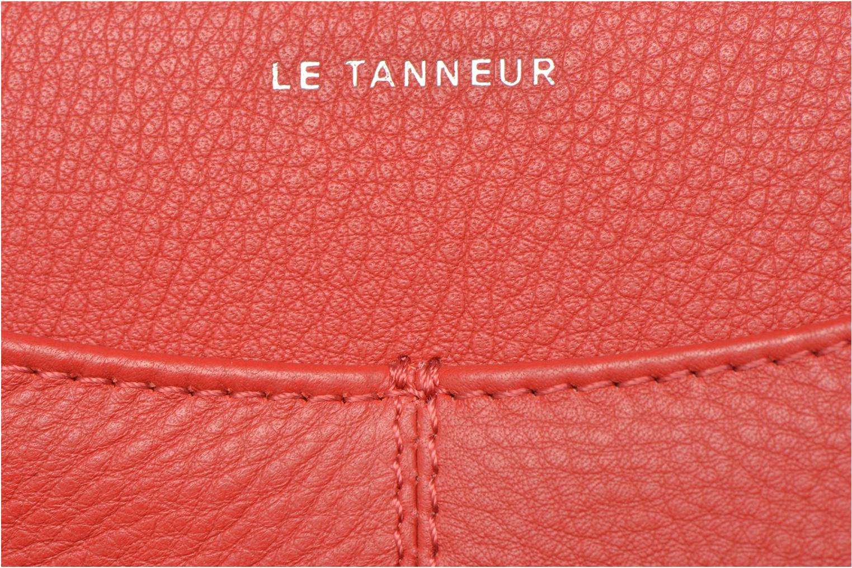 Portemonnaies & Clutches Le Tanneur VALENTINE Porte-monnaie long zippé rot ansicht von links