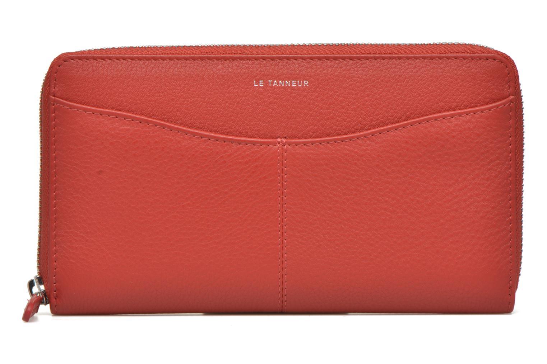 Portemonnaies & Clutches Le Tanneur VALENTINE Porte-monnaie long zippé rot detaillierte ansicht/modell