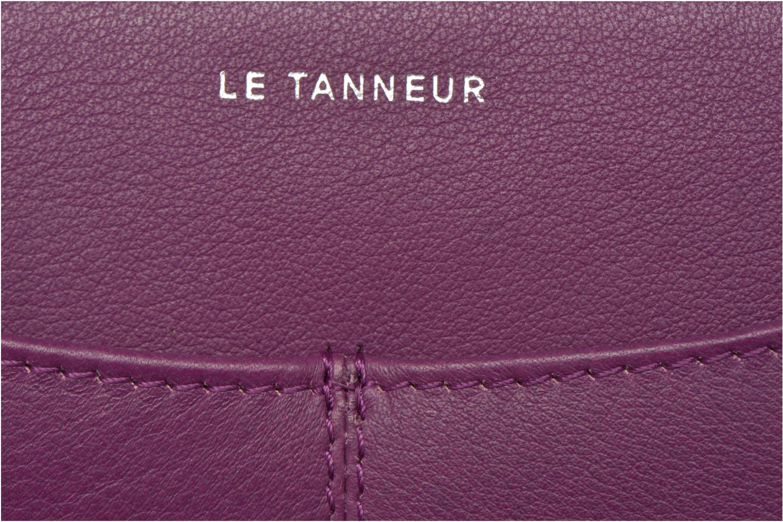 Wallets & cases Le Tanneur VALENTINE Porte-monnaie long zippé Purple view from the left