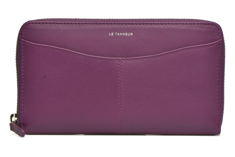 Wallets & cases Le Tanneur VALENTINE Porte-monnaie long zippé Purple detailed view/ Pair view