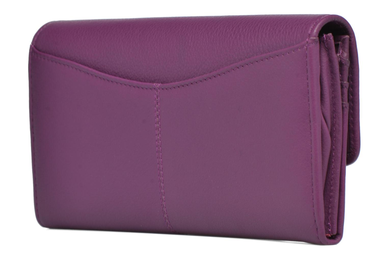 VALENTINE Porte-monnaie long Purple