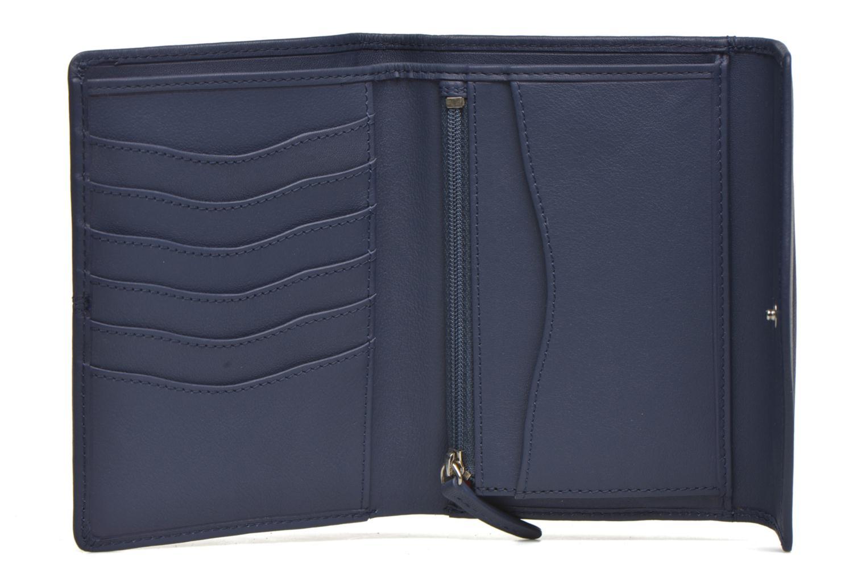 Petite Maroquinerie Le Tanneur VALENTINE Portefeuille poche zippée Bleu vue derrière