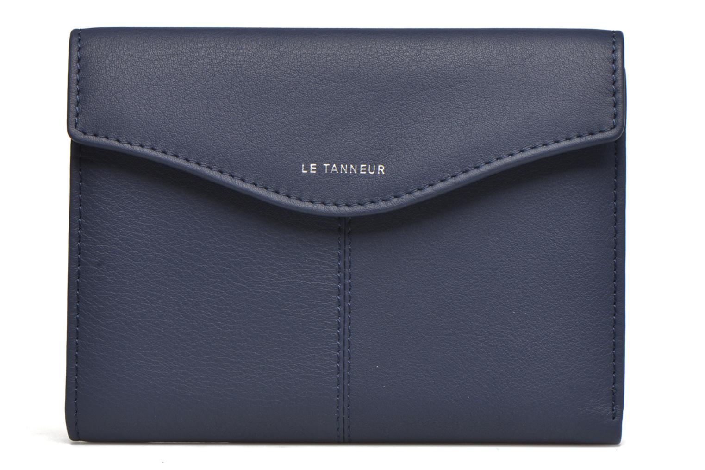 Petite Maroquinerie Le Tanneur VALENTINE Portefeuille poche zippée Bleu vue gauche