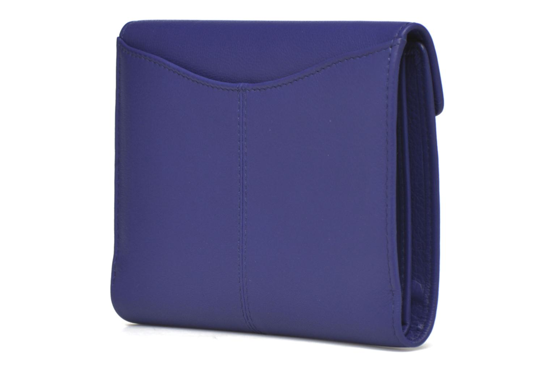 VALENTINE Portefeuille poche zippée Bleu majorelle