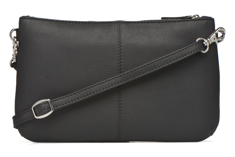 Sacs pochettes Le Tanneur VALENTINE Pochette zippée Noir vue face