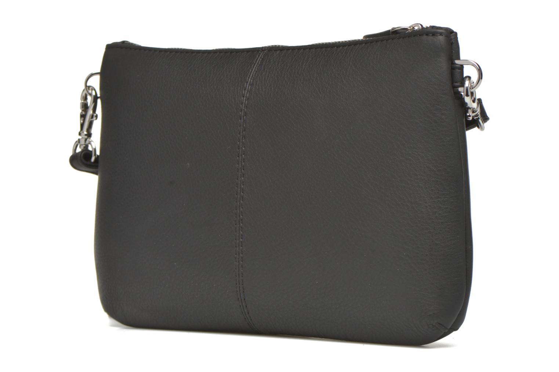 Sacs pochettes Le Tanneur VALENTINE Pochette zippée Noir vue droite