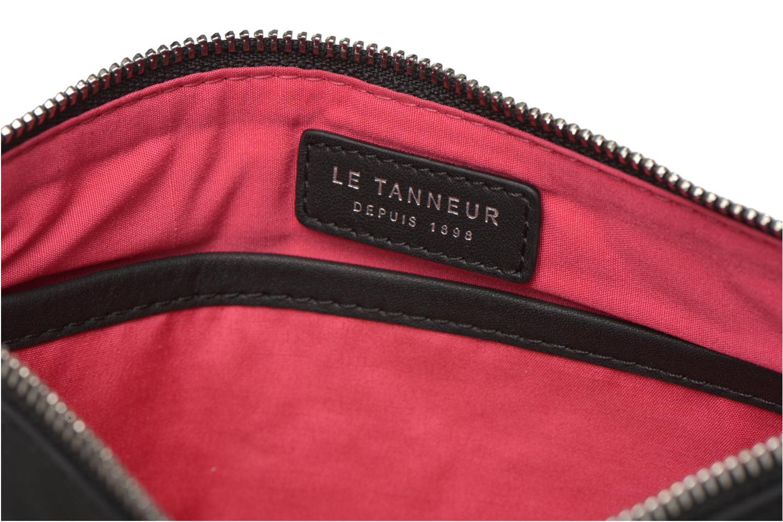 Sacs pochettes Le Tanneur VALENTINE Pochette zippée Noir vue derrière