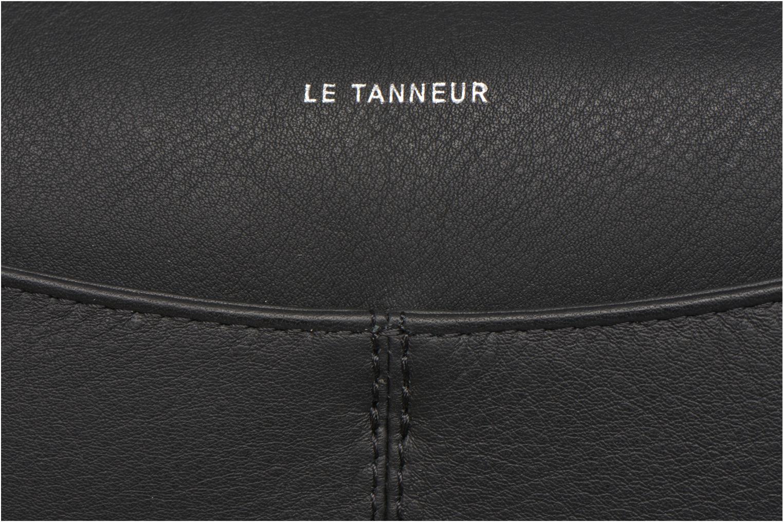 Sacs pochettes Le Tanneur VALENTINE Pochette zippée Noir vue gauche